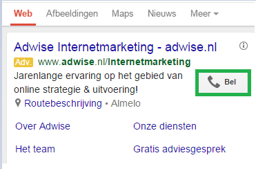call only adwords