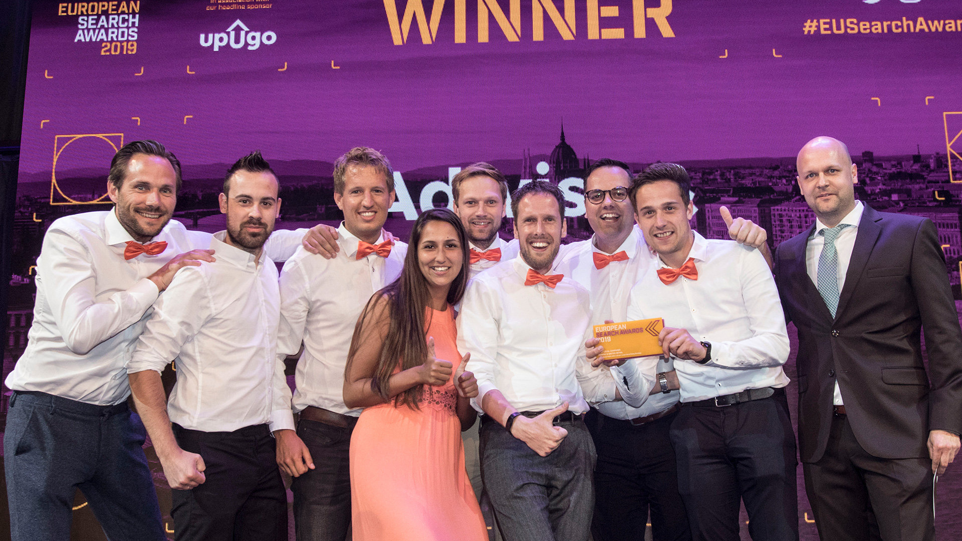 Adwise sleept drie European Search Awards in de wacht