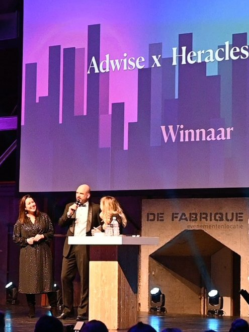 Dutch Search Award voor Heracles en Adwise