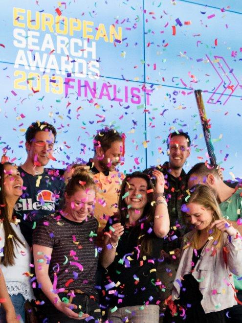 Adwise zes keer genomineerd voor de European Search Awards
