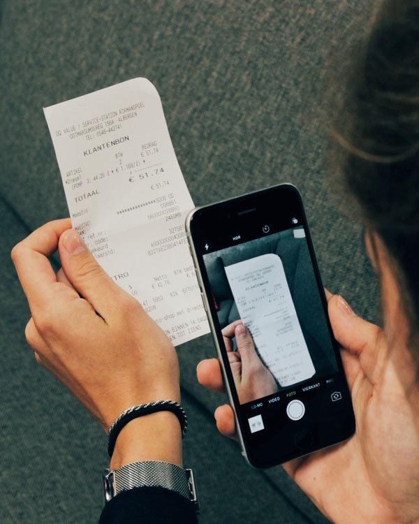 Digitaal je zakelijke bonnen indienen en declareren met een overzichtelijke app!