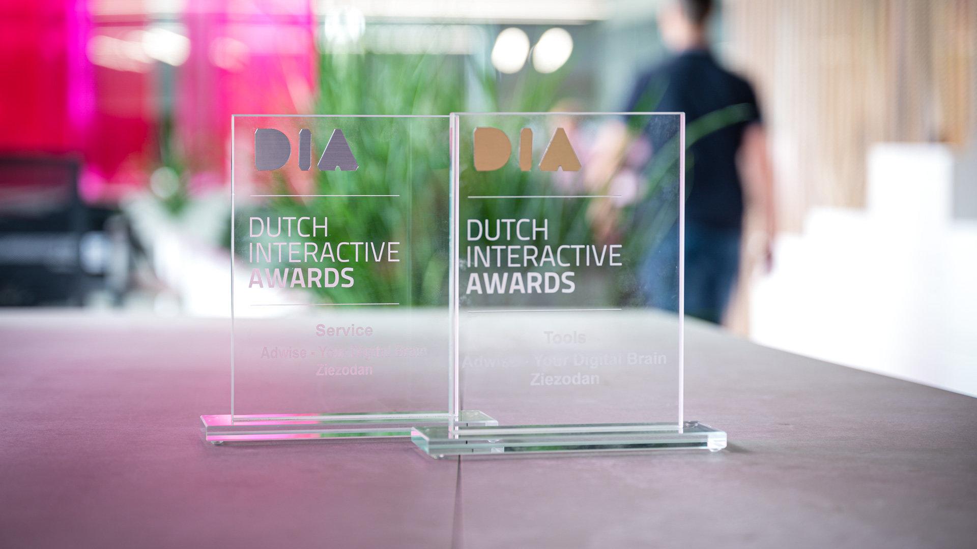 Goud en Zilver tijdens Dutch Interactive Awards 2019!