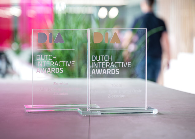 Goud en Zilver tijdens Dutch Interactive Awards 2019!