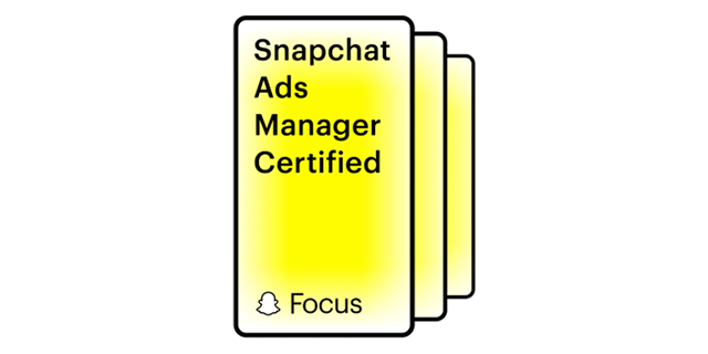 Snapchat Ads Manager Certified