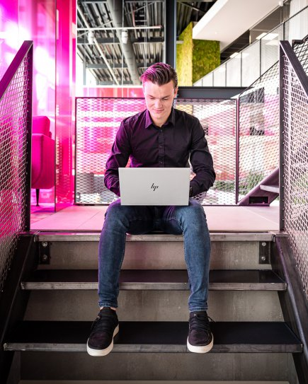 Disruptie door nieuwe data-gedreven businessmodel